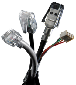 Cash drawer cable