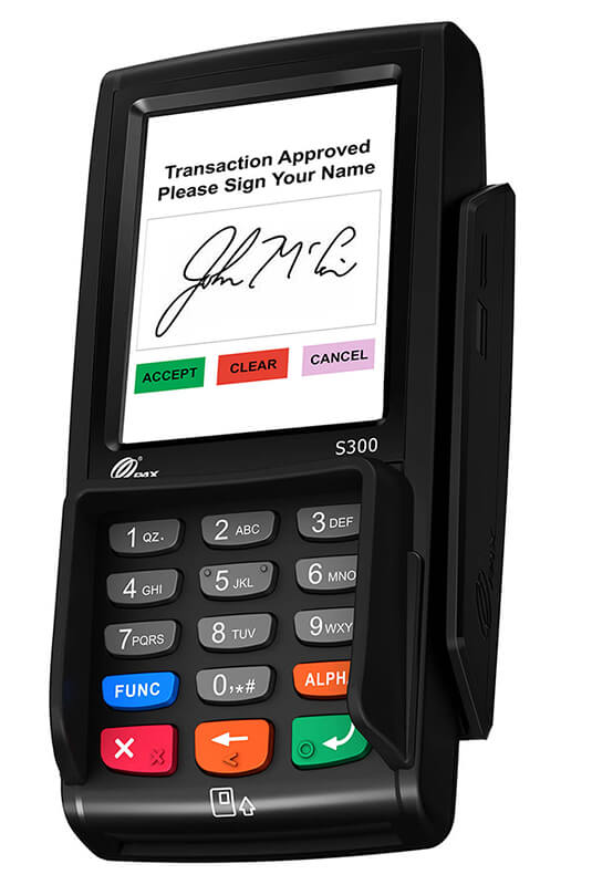 S300 Liberty Integrated Payments Card Swiper